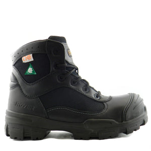 Royer 10-6100 Noir SANS MÉTAL Botte de travail Safety Boots Metal Free - Boutique du Cordonnier