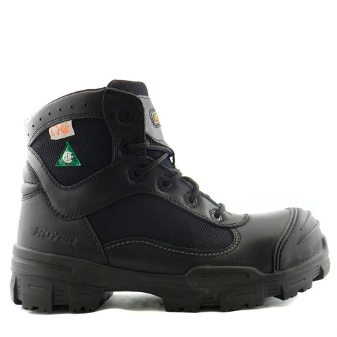 Royer 10-6100 Noir SANS MÉTAL Botte de travail Safety Boots Metal Free