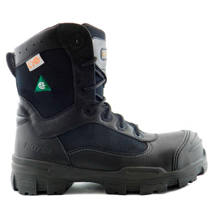 Royer 10-6200 Noir SANS MÉTAL Botte de travail Safety Boots Metal Free - Boutique du Cordonnier