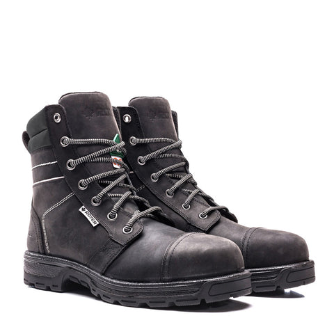 Royer 4700GT Black Working boot WITHOUT METAL for women - Boutique of the Shoemaker