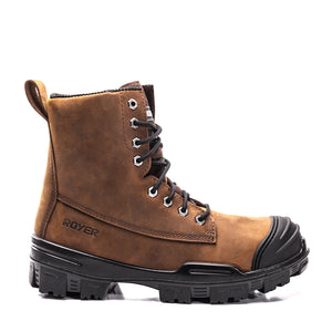 Royer 6020VT Brown Workboot WITHOUT METAL Assembled in Canada - Coordinator's Shop