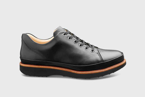 Samuel Hubbard DRESS FAST M1310-068 Black Shoes for Men Width Medium and Large with removable footbeds - Shop of the Shoemaker