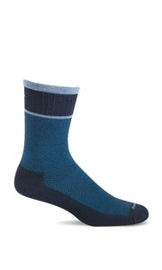 Sockwell SW29M Navy 600 Therapeutic Men's Socks Plantar Fasciitis Relief - Boutique du Cordonnier
