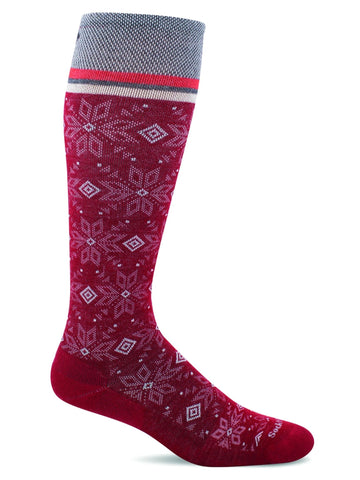 Sockwell SW92W Ruby 580 Women's Moderate Graduated Compression Socks 15-20mmHg - Boutique du Cordonnier