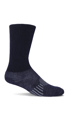 Sockwell CT2M Navy Therapeutic Men's Socks Comfort Essential - Boutique du Cordonnier