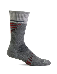 Sockwell CT36M Grey Therapeutic Men's Socks Moderate Graduated Compression 15-20mmHg - Boutique du Cordonnier