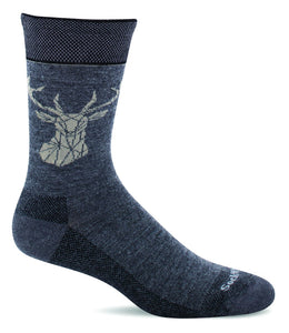 Sockwell LD53M Charcoal 850 Therapeutic Men's Socks Essential Comfort - Boutique du Cordonnier