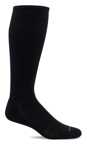 Sockwell SW100W 900 Black Therapeutic Women's Socks Moderate Graduate Compression 15-20mmHg - Boutique du Cordonnier