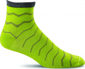 Sockwell SW14M Plantar Ease Limelight 415 Therapeutic Men's Socks Plantar Fasciitis Relief - Boutique du Cordonnier