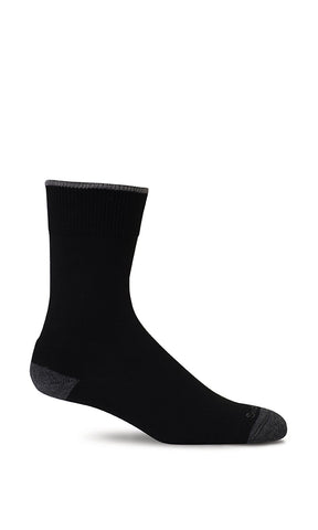Sockwell SW2W Easy Does It Black 900 Women's Relaxed Fit Socks (Diabetic) - Boutique du Cordonnier