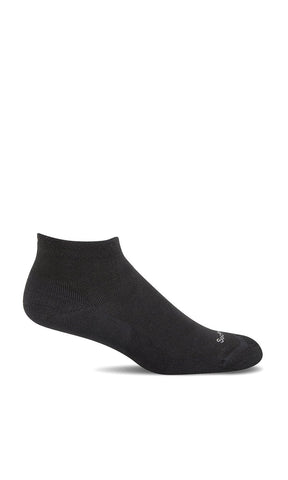 Sockwell SW34W Sport Ease Black Solid 905 Women's Therapeutic Socks Bunion Relief (Hallux Valgus) - Boutique du Cordonnier