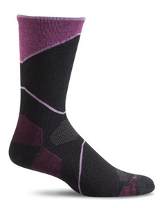 Sockwell SW38W Black 900 Women's Therapeutic Socks Moderate Graduated Compression 15-20mmHg - Boutique du Cordonnier