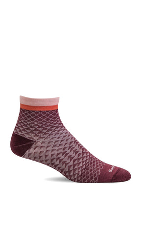 Sockwell SW62W Mulberry 515 therapeutic socks for women Plantar Fasciitis Relief - Boutique du Cordonnier