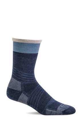 Sockwell SW74M Denim Men's Therapeutic Socks Firm Graduated Compression 20-30mmHg - Boutique du Cordonnier