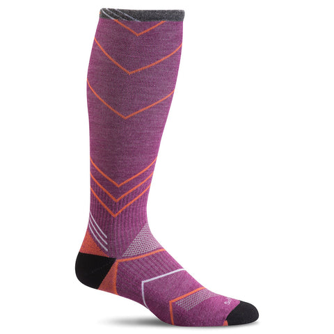Sockwell SW8W Violet 330 Women's Therapeutic Socks Moderate Graduated Compression 15-20mmHg - Boutique du Cordonnier
