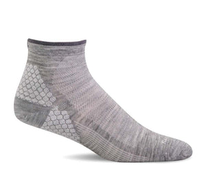 Sockwell SW76W Grey Therapeutic Low sets for Women's Relief of Plantar Fasciite - Coordinator's Shop