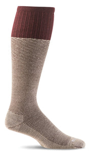 Therapeutic SOCKWELL SW20M KHAKI BAS for Men Compression Graduée Moderée 15-20mmHg