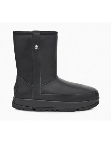 UGG Australia CLASSIC WEATHER SHORT 1112474 Black Women's Winter Boots - Boutique du Cordonnier