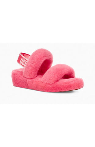 UGG Australia OH YEAH 1107953 STRAWBERRY SORBET Women's Spring Slippers - Boutique du Cordonnier