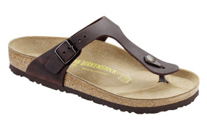 Birkenstock Gizeh 743831 Habana Natural Leather - Boutique du Cordonnier