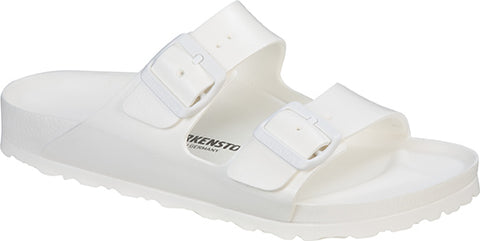 Birkenstock ARIZONA EVA 129443 WHITE Close - Shop of the Shoemaker