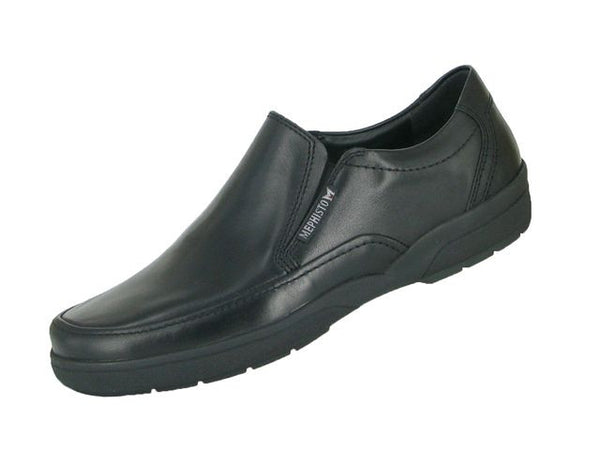 Mephisto ADELIO Black Men's Comfortable Shoes with removable soles - Coordinator's Shop