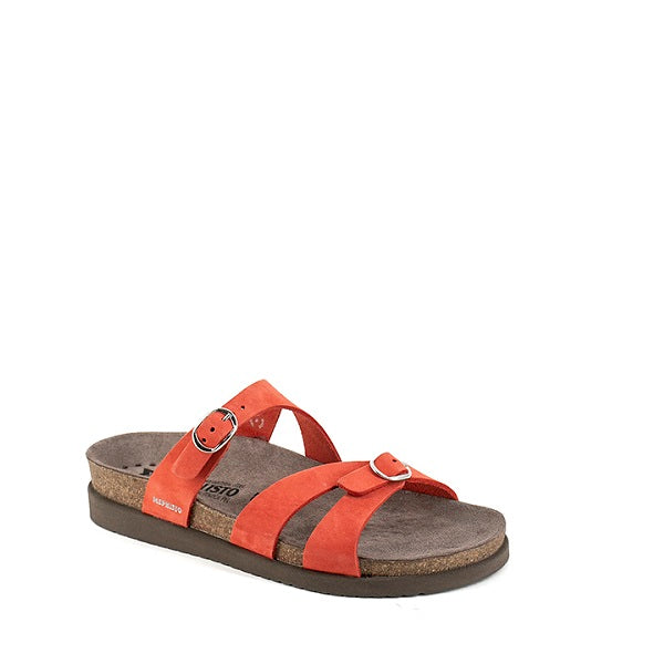 Mephisto HANNEL Coral Women's Sandals in Leather - Boutique du Cordonnier
