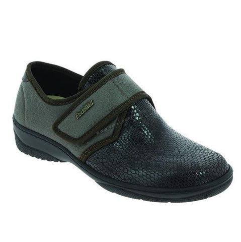 Podowell MANILLE Marron Chaussures pour pieds Sensibles