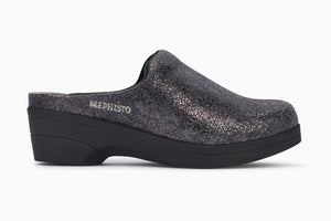 Mephisto SATTY Dark Grey 13352 Mule for Women - Coordinator's Shop