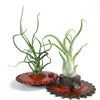 Steampunk Gear Planter - Red