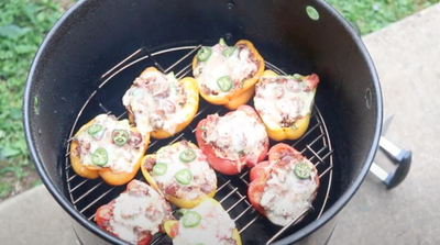 Smoky Chorizo Stuffed Peppers