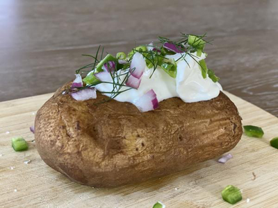 Smoked Loaded Potato