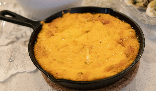 Keto Pimento Cheese Dip in Iron Skillet