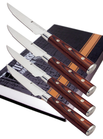 Pit Barrel Steak Knife Set - Pit Barrel Cooker