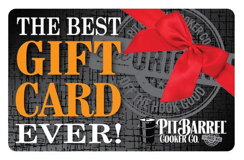 Gift Card - Pit Barrel Cooker