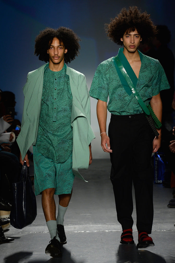 NOT ss19 menswear flying solo