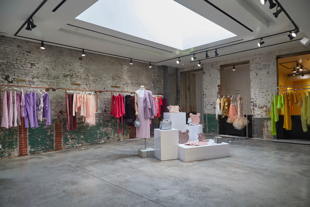 Flying solo independent fashion store in soho