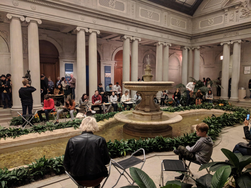 frick collection gardent court