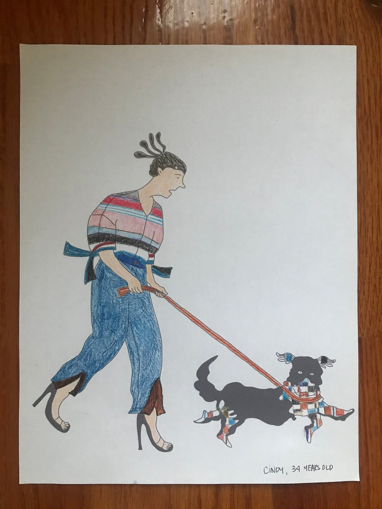 strut with pup fashion coloring book contest submission