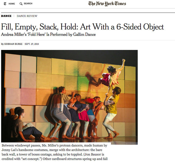 ny times gallim dance not by jenny lai
