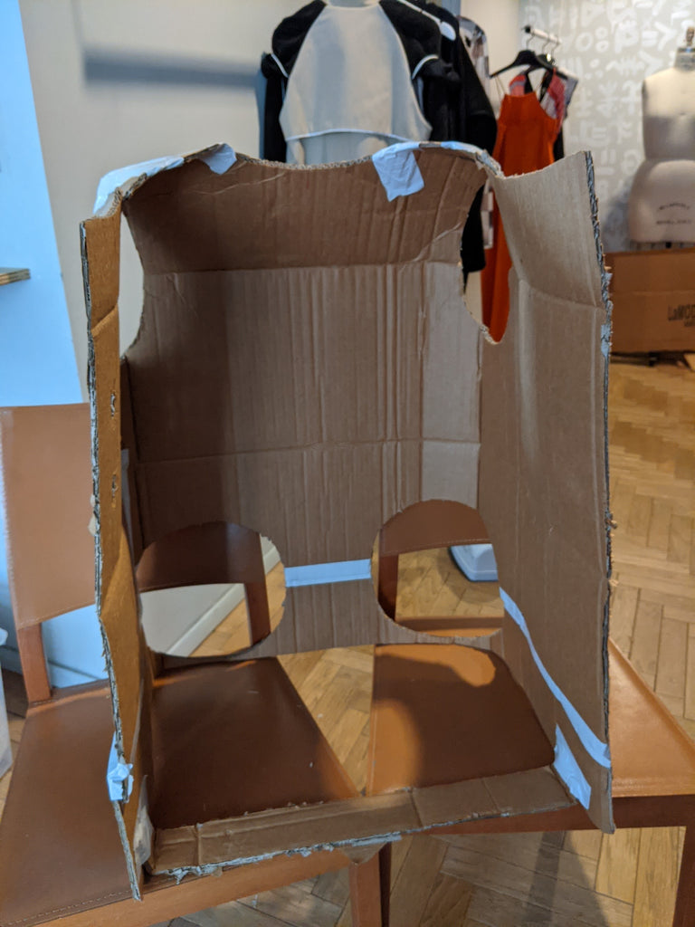 cardboard body structure