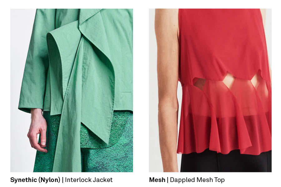 How to care for synthetic fabrics designer clothes