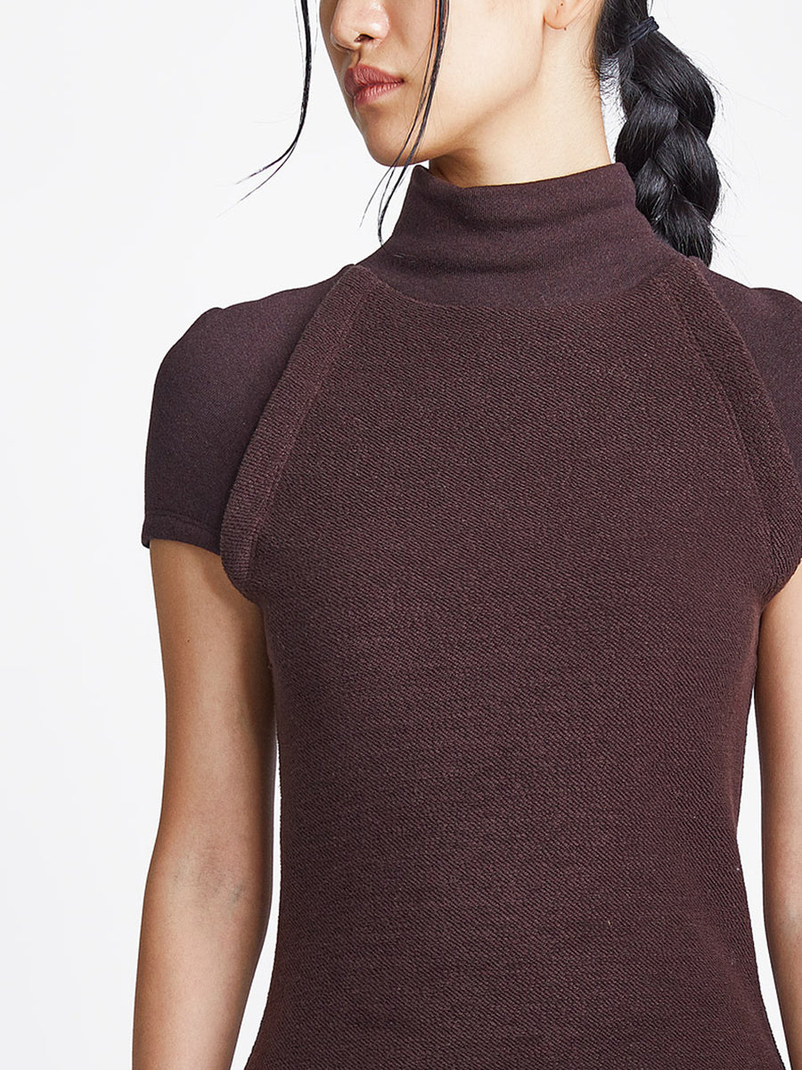 Cap Sleeve Knit Top