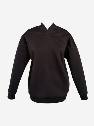 Curve Shoulder Sweater Neoprene