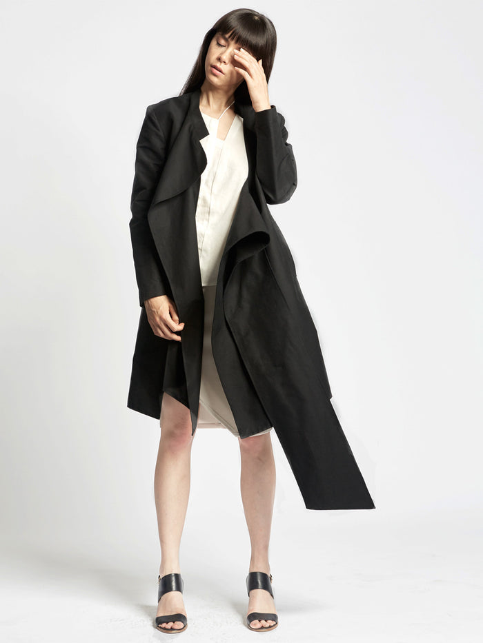 Interlock Coat