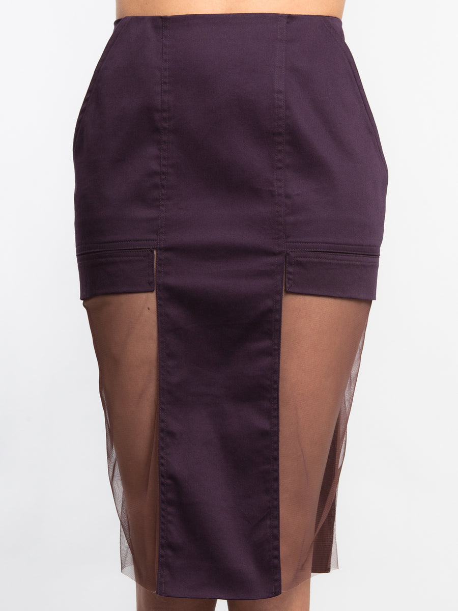 Side Sheer Skirt