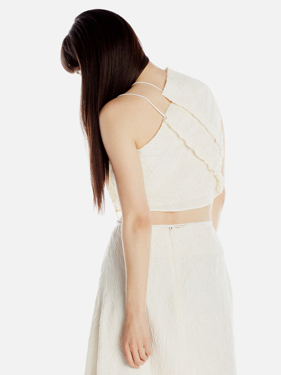 Cropped Corded Top