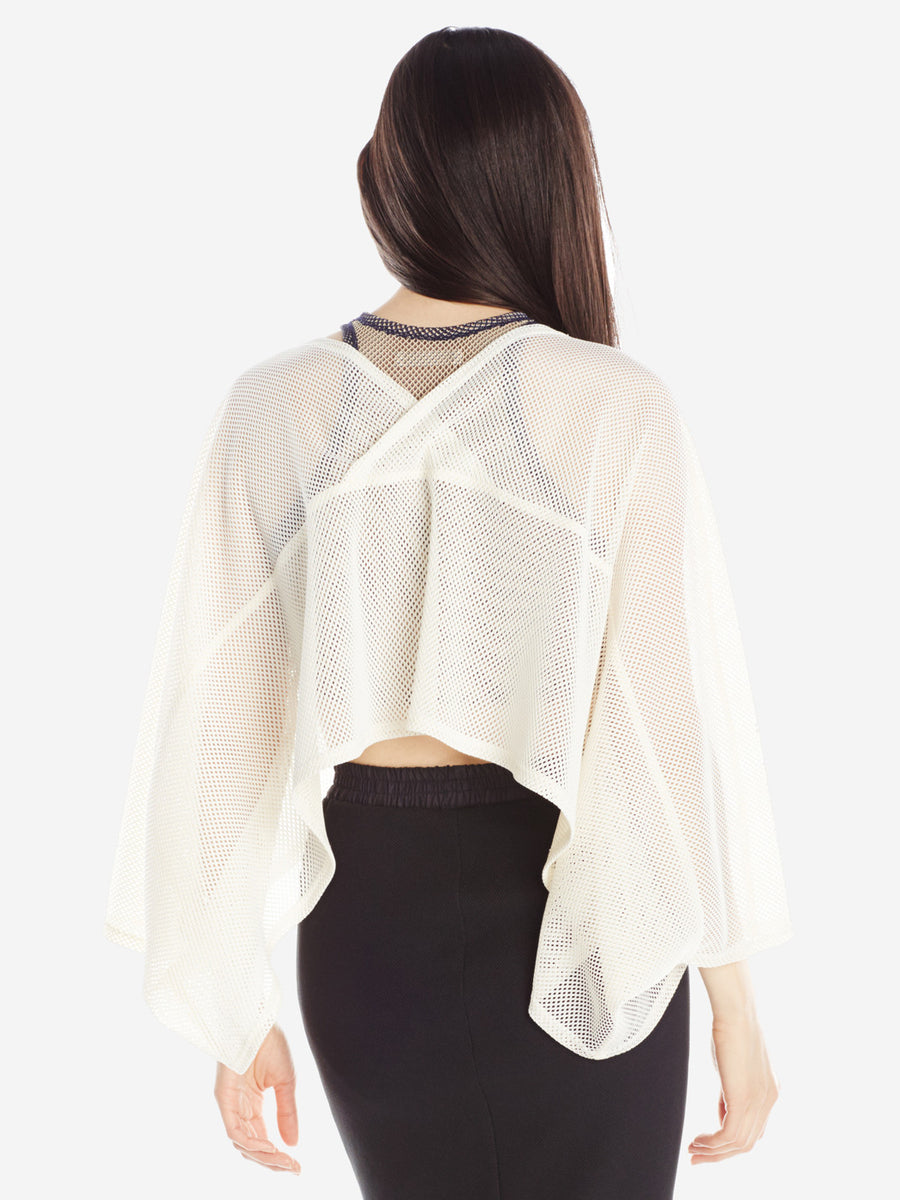 Long Rectangle Top White