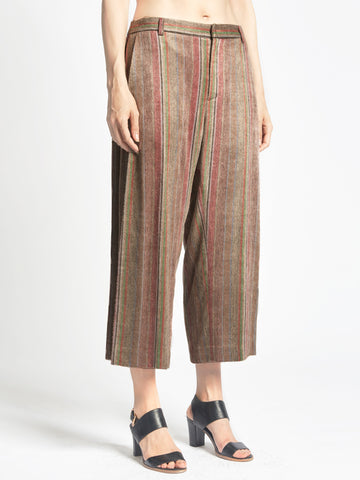 Side Pleat Pants Cashmere