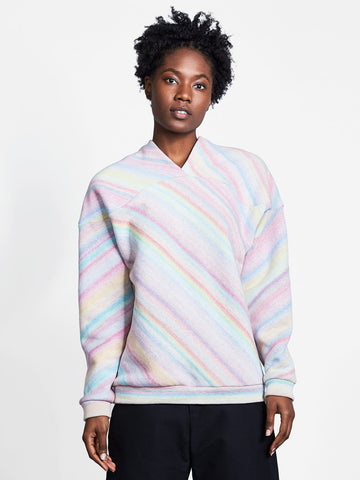 Curve Shoulder Sweater Sandscape